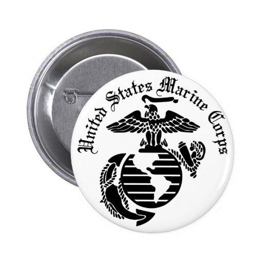 USMC United States Marine Corps Buttons