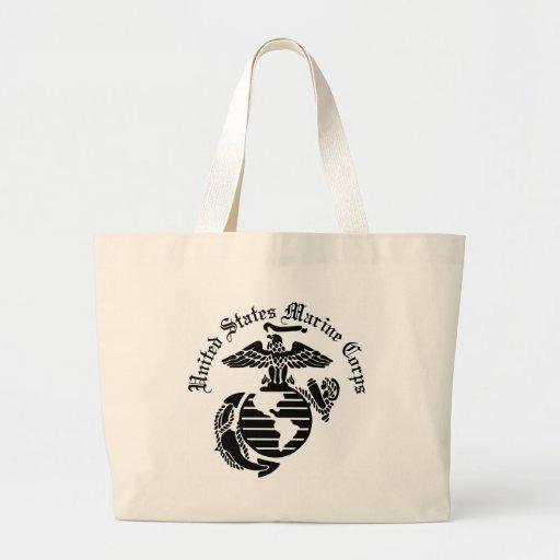 USMC United States Marine Corps Canvas Bags
