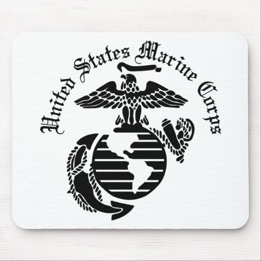 USMC United States Marine Corps Mousepads