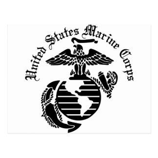 USMC United States Marine Corps Postcard