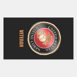 USMC Veteran Sticker