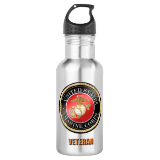 USMC Veteran Water Bottle