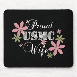 USMC Wife [fl camo] Mouse Pad