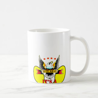 USMC Yellow Footprints It's A Marine Thing Coffee Mug