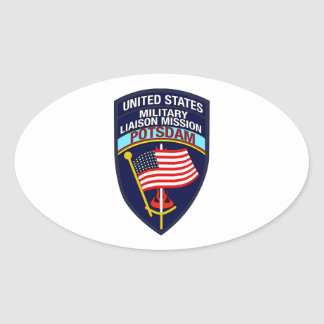 USMLM Insignia Oval Sticker