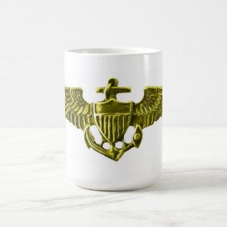 USN Pilot Wings Mugs