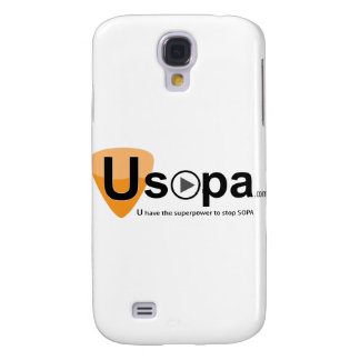 USOPA, you have the superpowers to stop SOPA Galaxy S4 Case
