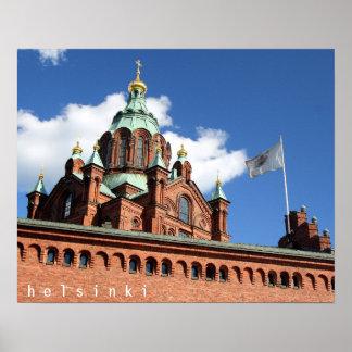Uspenski Cathedral, Helsinki Poster