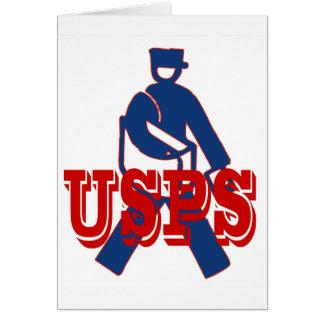 USPS Letter Carrier Card