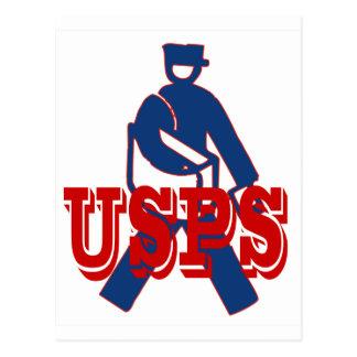 USPS Letter Carrier Postcard