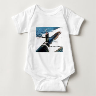 USS ALABAMA BABY BODYSUIT
