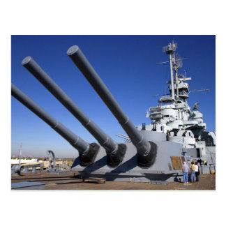 USS Alabama Battleship at Battleship Memorial 2 Postcard