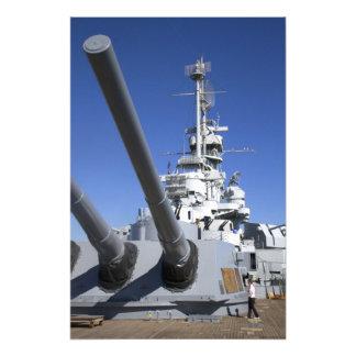 USS Alabama Battleship at Battleship Memorial Photo Art