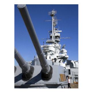 USS Alabama Battleship at Battleship Memorial Postcard