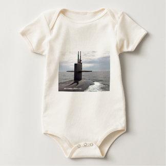 USS ALASKA BABY BODYSUIT