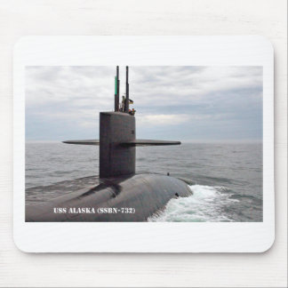 USS ALASKA MOUSE PAD