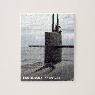 USS ALASKA PUZZLE
