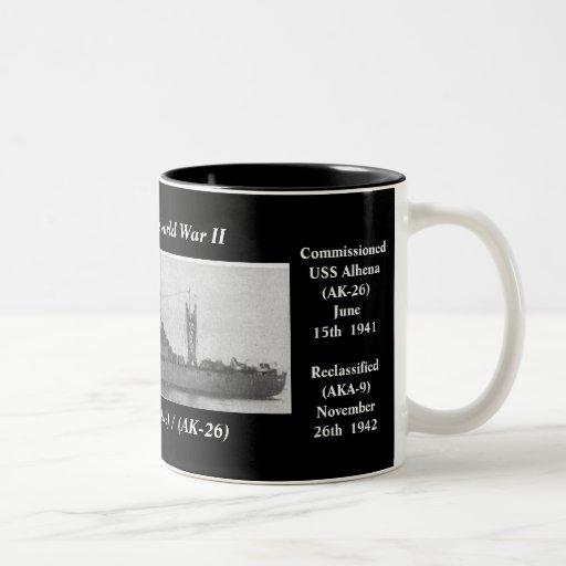 USS Alhena (AKA-9) / (AK-26) Coffee Mug