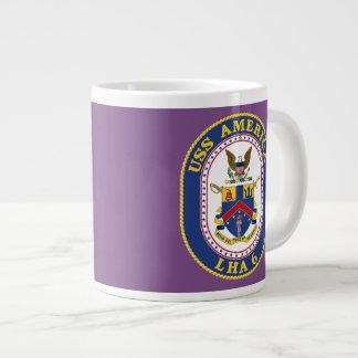 Uss America Large Coffee Mug