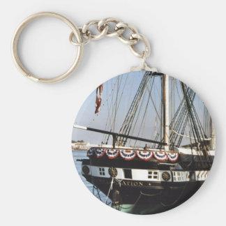 USS Constellation Key Ring