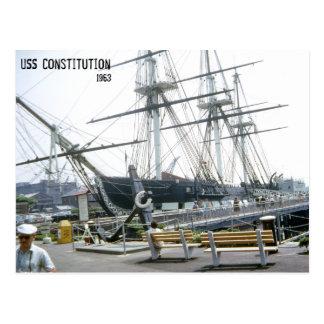 USS Constitution 1963 Postcards