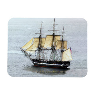 USS Constitution at Full Mask Magnet