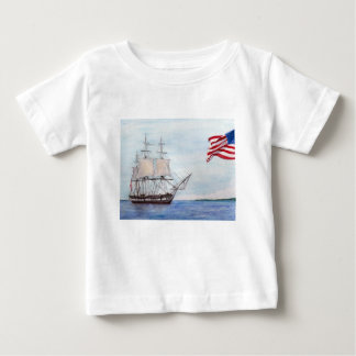 USS Constitution Baby T-Shirt