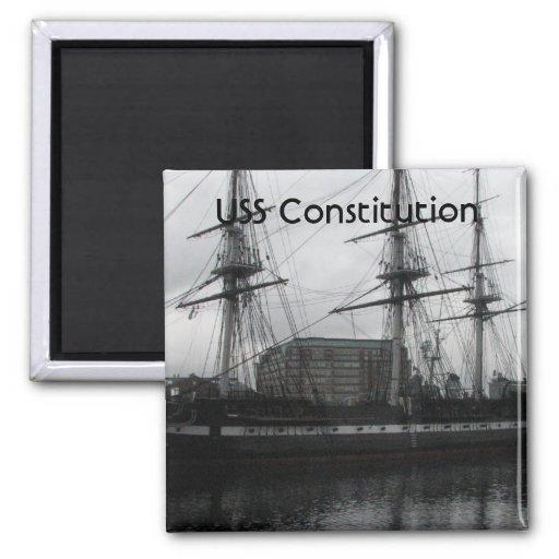 USS Constitution Fridge Magnets