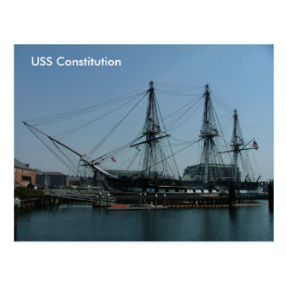 USS Constitution Postcard