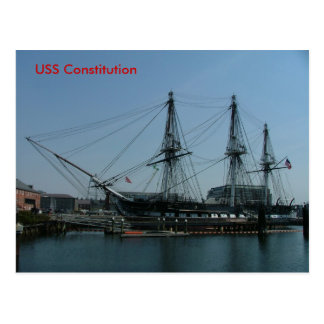 USS Constitution Post Cards