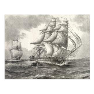 USS Constitution Postcard