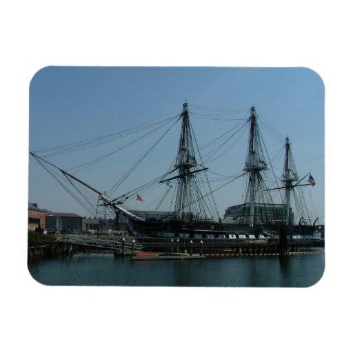 USS Constitution Rectangular Magnet