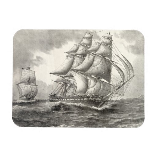 USS Constitution Magnets