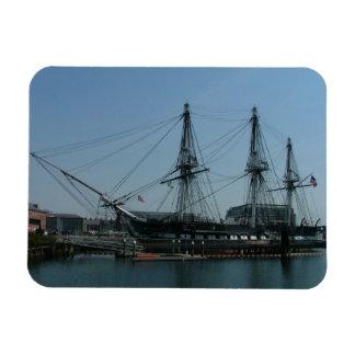 USS Constitution Rectangular Photo Magnet