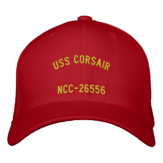 USS Corsair Hat Embroidered Hats