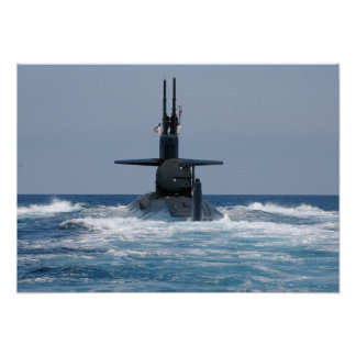 USS Dallas (SSN 700) Poster