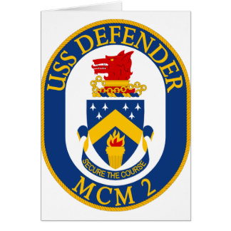 USS Defender - MCM 2 - Secure The Course Card