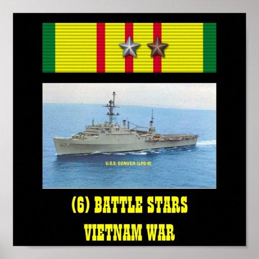 USS DENVER (LPD-9) POSTER