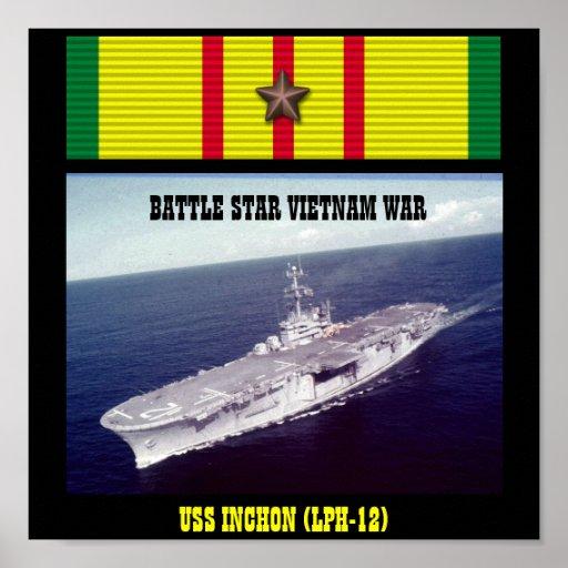 USS INCHON (LPH-12) POSTER