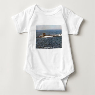 USS JAMES K. POLK BABY BODYSUIT