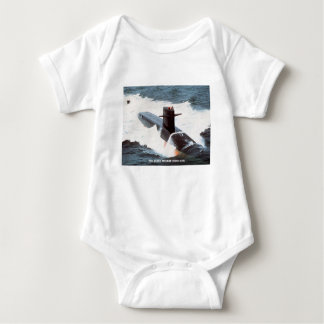 USS JAMES MONROE BABY BODYSUIT