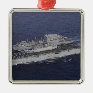 USS Kearsarge Metal Ornament