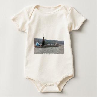 USS LOUISIANA BABY BODYSUIT