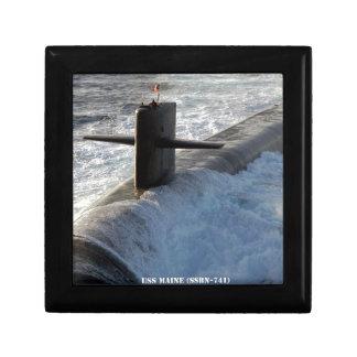 USS MAINE GIFT BOX