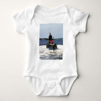 USS MARIANO G. VALLEJO BABY BODYSUIT
