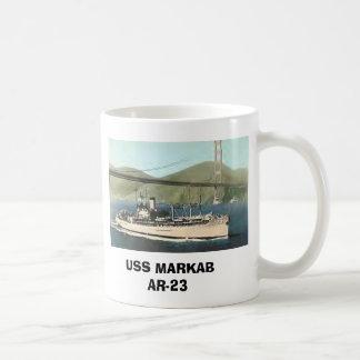 USS MARKAB AR-23 BASIC WHITE MUG