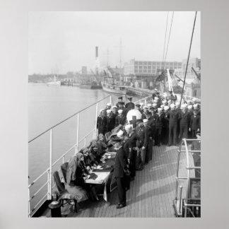 USS Mayflower: 1926 Poster