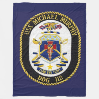 USS MICHAEL MURPHY  FLEECE BLANKET