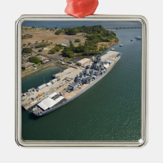 USS Missouri, Pearl Harbor, Honolulu, Hawaii Metal Ornament