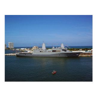 USS New York Postcard